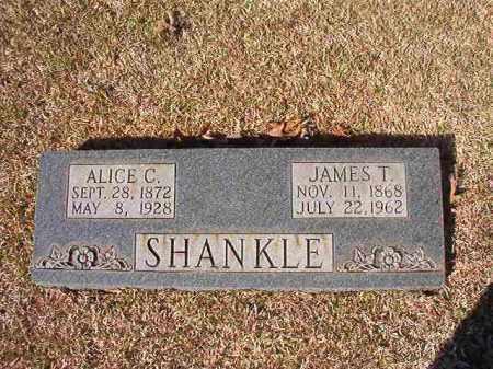 SHANKLE, ALICE C - Dallas County, Arkansas | ALICE C SHANKLE - Arkansas Gravestone Photos