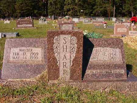GIVENS SHARP, MABLE - Dallas County, Arkansas | MABLE GIVENS SHARP - Arkansas Gravestone Photos