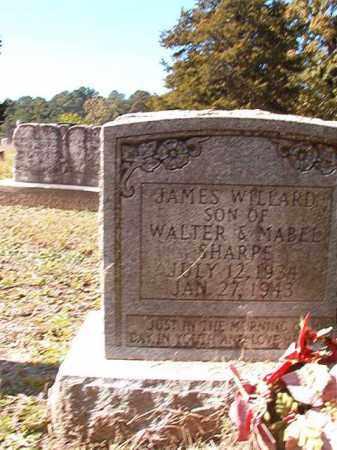 SHARPE, JAMES WILLARD - Dallas County, Arkansas | JAMES WILLARD SHARPE - Arkansas Gravestone Photos