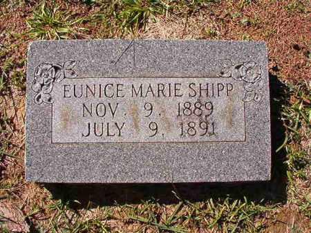 SHIPP, EUNICE MARIE - Dallas County, Arkansas   EUNICE MARIE SHIPP - Arkansas Gravestone Photos