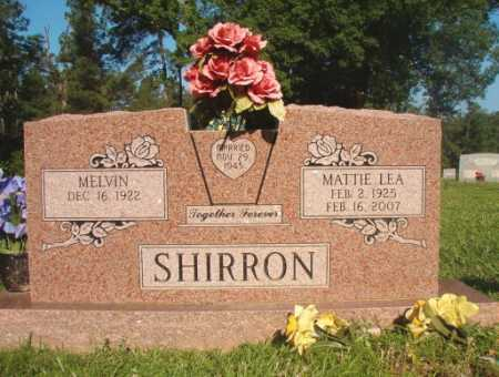 LEA SHIRRON, MATTIE - Dallas County, Arkansas | MATTIE LEA SHIRRON - Arkansas Gravestone Photos