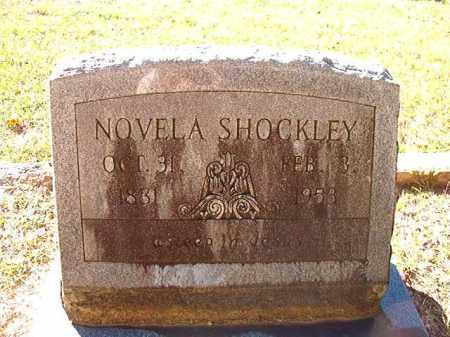 SHOCKLEY, NOVELA - Dallas County, Arkansas   NOVELA SHOCKLEY - Arkansas Gravestone Photos