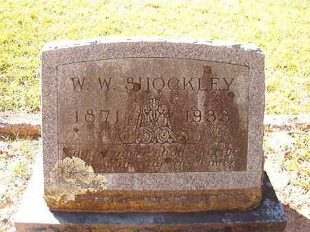 SHOCKLEY, W W - Dallas County, Arkansas | W W SHOCKLEY - Arkansas Gravestone Photos