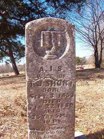 SHORT, A I S - Dallas County, Arkansas | A I S SHORT - Arkansas Gravestone Photos