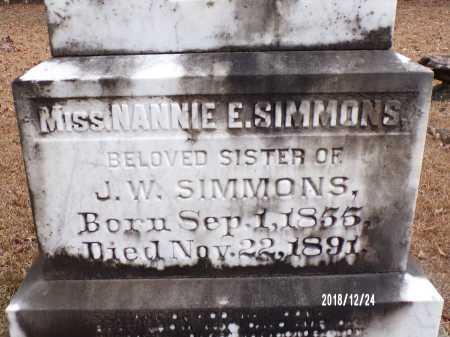 SIMMONS, NANNIE - Dallas County, Arkansas   NANNIE SIMMONS - Arkansas Gravestone Photos