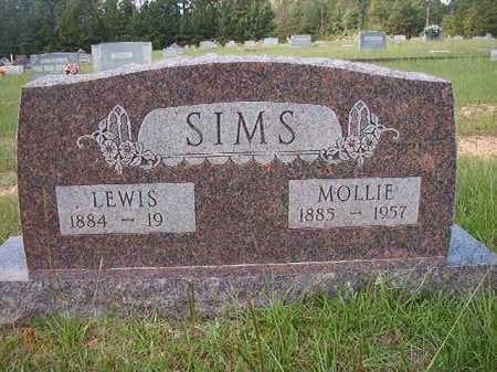 SIMS, MOLLIE - Dallas County, Arkansas | MOLLIE SIMS - Arkansas Gravestone Photos