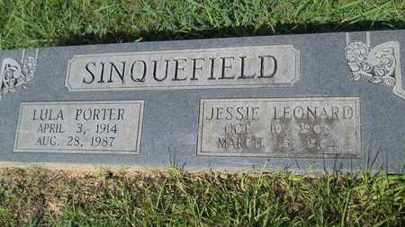 PORTER SINQUEFIELD, LULA - Dallas County, Arkansas | LULA PORTER SINQUEFIELD - Arkansas Gravestone Photos
