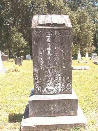 SINQUEFIELD, MARY A - Dallas County, Arkansas | MARY A SINQUEFIELD - Arkansas Gravestone Photos