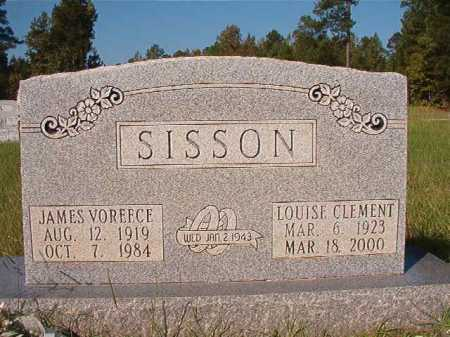 SISSON, LOUISE - Dallas County, Arkansas | LOUISE SISSON - Arkansas Gravestone Photos
