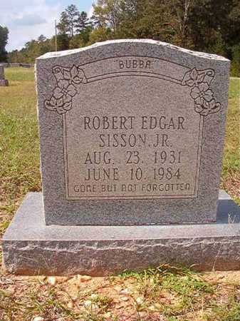 SISSON, JR, ROBERT EDGAR - Dallas County, Arkansas | ROBERT EDGAR SISSON, JR - Arkansas Gravestone Photos