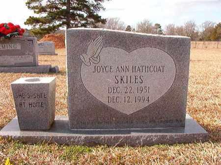 SKILES, JOYCE ANN - Dallas County, Arkansas   JOYCE ANN SKILES - Arkansas Gravestone Photos