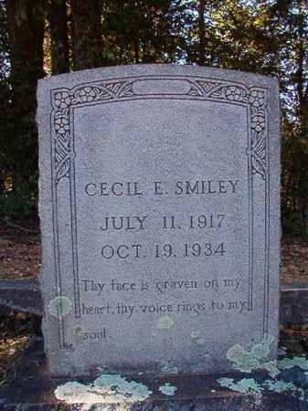 SMILEY, CECIL E - Dallas County, Arkansas | CECIL E SMILEY - Arkansas Gravestone Photos