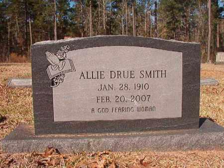 SMITH, ALLIE DRUE - Dallas County, Arkansas | ALLIE DRUE SMITH - Arkansas Gravestone Photos