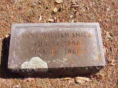 WILLIAM SMITH, ANNE - Dallas County, Arkansas | ANNE WILLIAM SMITH - Arkansas Gravestone Photos