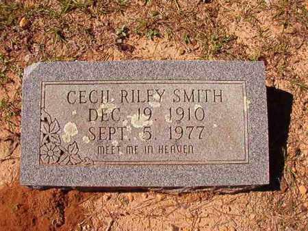 SMITH, CECIL RILEY - Dallas County, Arkansas | CECIL RILEY SMITH - Arkansas Gravestone Photos