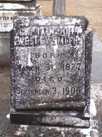 SMITH, CAPTAIN, JOHN WESLEY - Dallas County, Arkansas | JOHN WESLEY SMITH, CAPTAIN - Arkansas Gravestone Photos