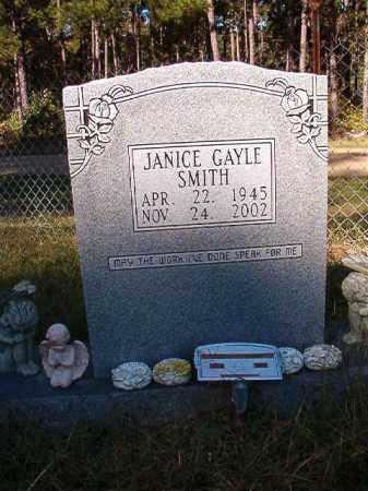 SMITH, JANICE GAYLE - Dallas County, Arkansas   JANICE GAYLE SMITH - Arkansas Gravestone Photos