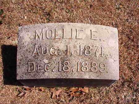 SMITH, MOLLIE E - Dallas County, Arkansas | MOLLIE E SMITH - Arkansas Gravestone Photos