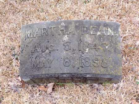 DEAN SMITH, MARTHA - Dallas County, Arkansas | MARTHA DEAN SMITH - Arkansas Gravestone Photos