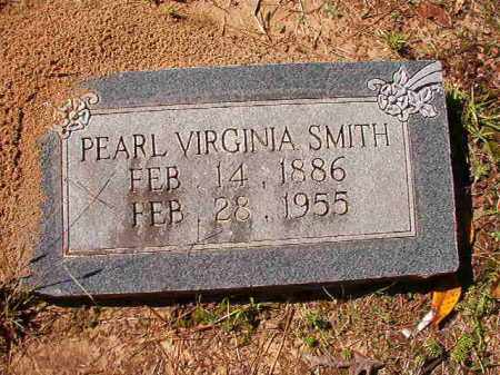 SMITH, PEARL VIRGINIA - Dallas County, Arkansas | PEARL VIRGINIA SMITH - Arkansas Gravestone Photos