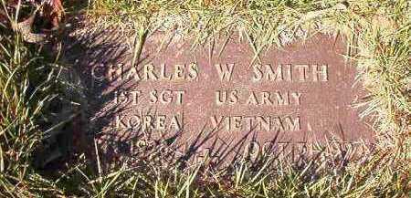 SMITH (VETERAN 2 WARS), CHARLES W - Dallas County, Arkansas | CHARLES W SMITH (VETERAN 2 WARS) - Arkansas Gravestone Photos