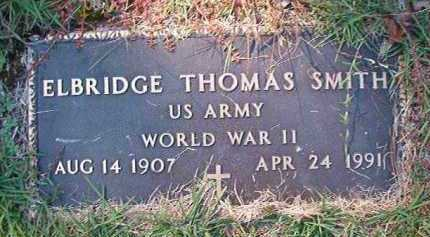 SMITH (VETERAN WWII), ELBRIDGE THOMAS - Dallas County, Arkansas | ELBRIDGE THOMAS SMITH (VETERAN WWII) - Arkansas Gravestone Photos