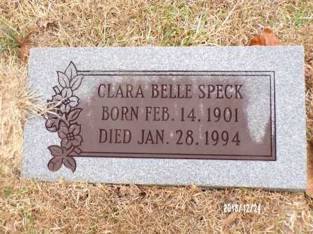 SPECK, CLARA BELLE - Dallas County, Arkansas | CLARA BELLE SPECK - Arkansas Gravestone Photos