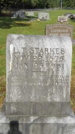 STARKES, L T - Dallas County, Arkansas | L T STARKES - Arkansas Gravestone Photos