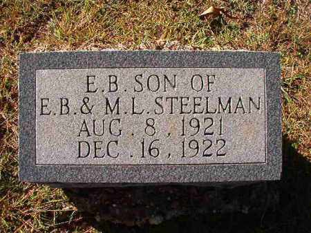 STEELMAN, E B - Dallas County, Arkansas | E B STEELMAN - Arkansas Gravestone Photos