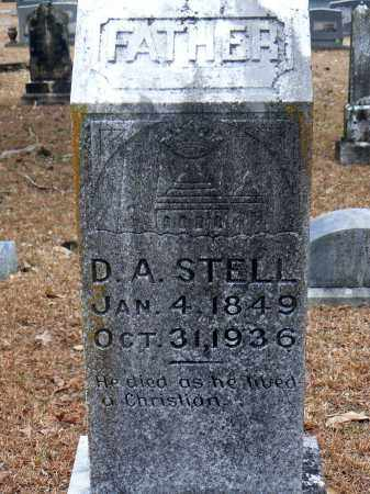 STELL, DANIEL ASBURY (D. A.) - Dallas County, Arkansas | DANIEL ASBURY (D. A.) STELL - Arkansas Gravestone Photos