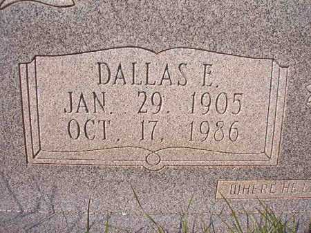 STELL, DALLAS E (CLOSEUP) - Dallas County, Arkansas | DALLAS E (CLOSEUP) STELL - Arkansas Gravestone Photos