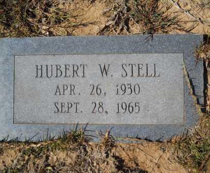 STELL, HUBERT W - Dallas County, Arkansas | HUBERT W STELL - Arkansas Gravestone Photos