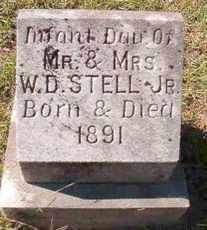 STELL, INFANT DAUGHTER - Dallas County, Arkansas | INFANT DAUGHTER STELL - Arkansas Gravestone Photos