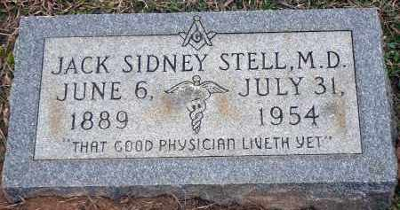 STELL, JACK SYDNEY, MD - Dallas County, Arkansas | JACK SYDNEY, MD STELL - Arkansas Gravestone Photos