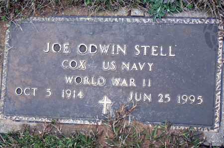 STELL (VETERAN WWII), JOSEPH ODWIN - Dallas County, Arkansas | JOSEPH ODWIN STELL (VETERAN WWII) - Arkansas Gravestone Photos