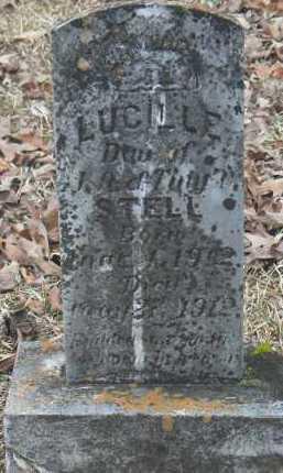 STELL, LUCILLE - Dallas County, Arkansas   LUCILLE STELL - Arkansas Gravestone Photos