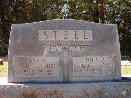 STELL, TINY V - Dallas County, Arkansas | TINY V STELL - Arkansas Gravestone Photos