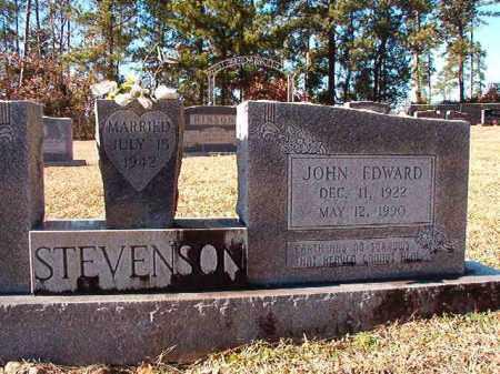 STEVENSON, JOHN EDWARD - Dallas County, Arkansas | JOHN EDWARD STEVENSON - Arkansas Gravestone Photos
