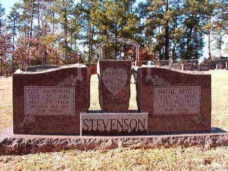 STEVENSON, PETE NATHANIEL - Dallas County, Arkansas | PETE NATHANIEL STEVENSON - Arkansas Gravestone Photos