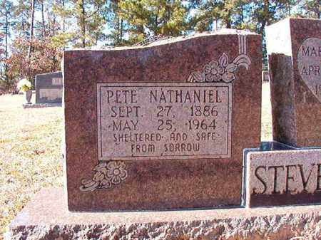 STEVENSON, PETE NATHANIEL - Dallas County, Arkansas | PETE NATHANIEL STEVENSON - Arkansas Gravestone Photos
