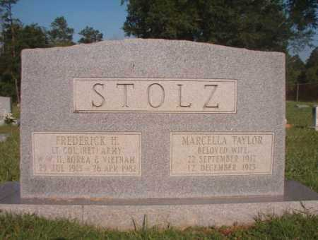 TAYLOR STOLZ, MARCELLA - Dallas County, Arkansas | MARCELLA TAYLOR STOLZ - Arkansas Gravestone Photos
