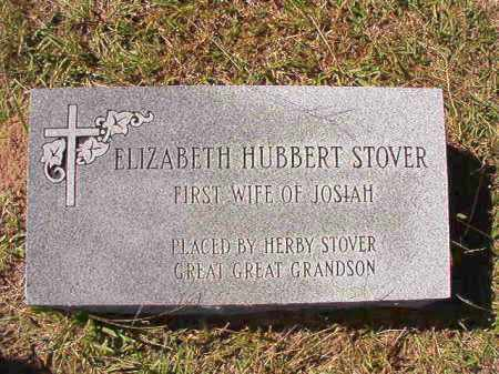 STOVER, ELIZABETH - Dallas County, Arkansas   ELIZABETH STOVER - Arkansas Gravestone Photos