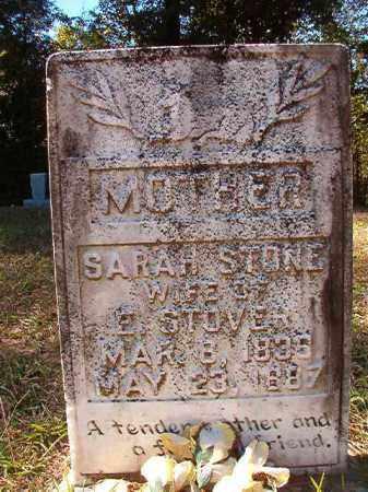STONE STOVER, SARAH - Dallas County, Arkansas | SARAH STONE STOVER - Arkansas Gravestone Photos