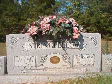 LAUNIUS STRINGFELLOW, PAT - Dallas County, Arkansas | PAT LAUNIUS STRINGFELLOW - Arkansas Gravestone Photos