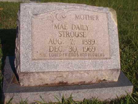 STROUSE, MAE - Dallas County, Arkansas | MAE STROUSE - Arkansas Gravestone Photos