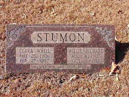 STUMON, CLARA - Dallas County, Arkansas | CLARA STUMON - Arkansas Gravestone Photos