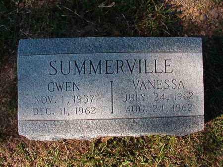 SUMMERVILLE, VANESSA - Dallas County, Arkansas | VANESSA SUMMERVILLE - Arkansas Gravestone Photos