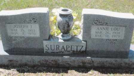 HEARNE SURAPETZ, ANNIE LOU - Dallas County, Arkansas | ANNIE LOU HEARNE SURAPETZ - Arkansas Gravestone Photos