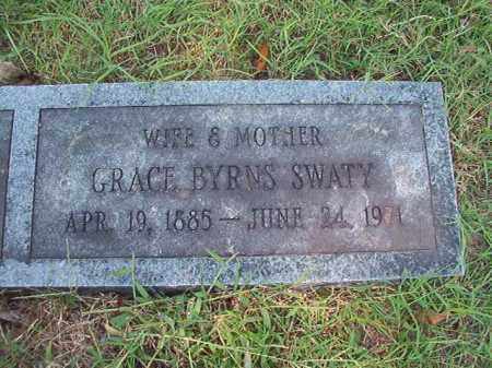 SWATY, GRACE - Dallas County, Arkansas   GRACE SWATY - Arkansas Gravestone Photos