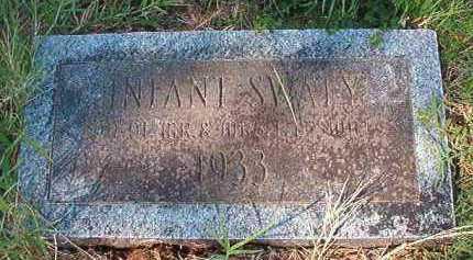SWATY, INFANT SON - Dallas County, Arkansas | INFANT SON SWATY - Arkansas Gravestone Photos